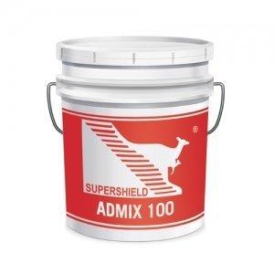 admix 100 additivo impermeabilizzante per calcestruzzo
