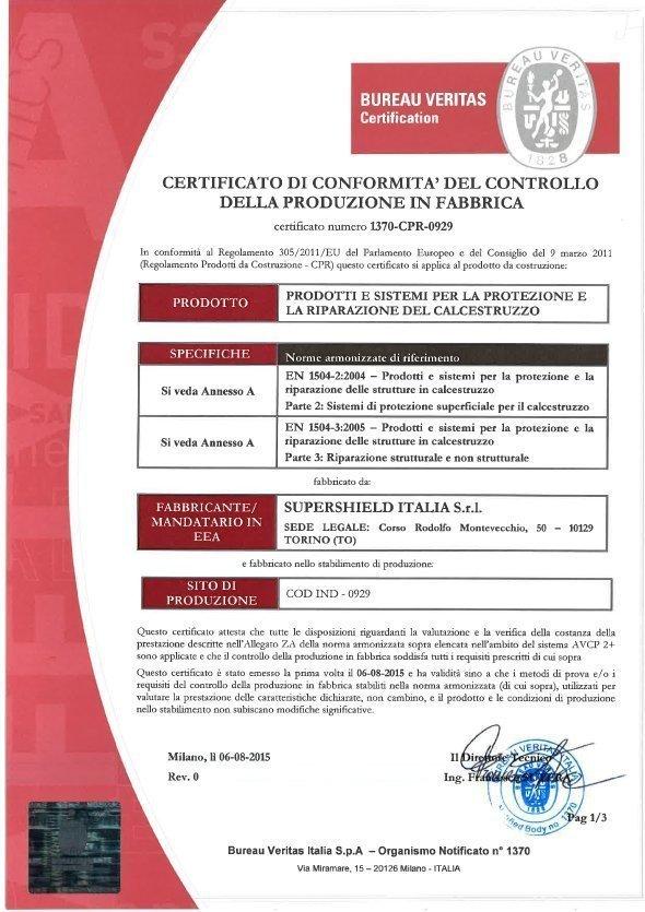 0929_REV0-1 Certificazione