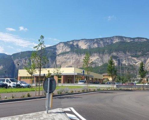 1 - Vasca anticendio Supermercato Eurospin Gardolo (Trento) - Pisetta Costruzioni