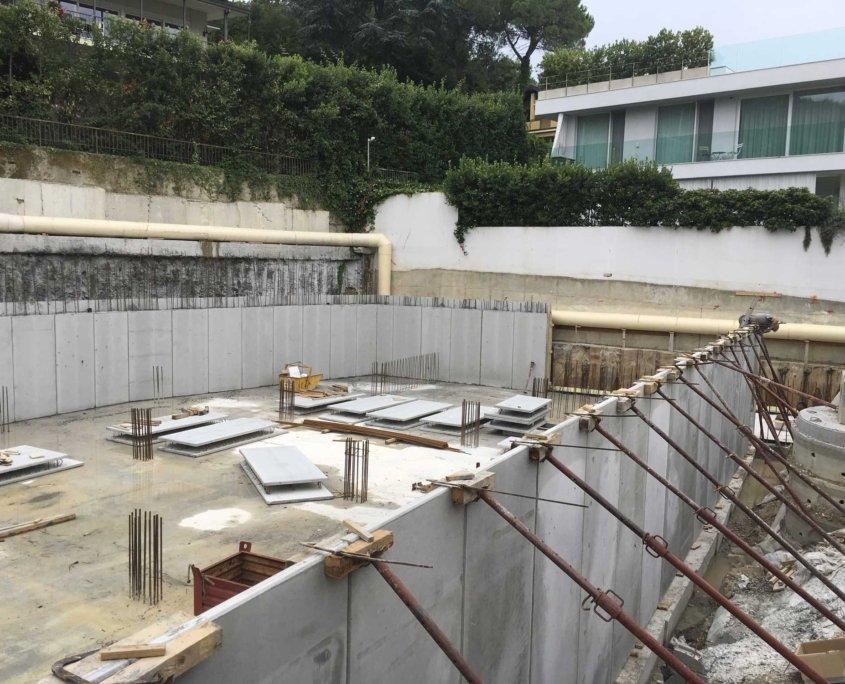 6 - Vista Cantiere - Ampliamento Hotel San Felice del Benaco - Brescia - F Service Scarl