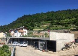 Struttura Pubblica Parcheggi Villamontagna TN Dopo