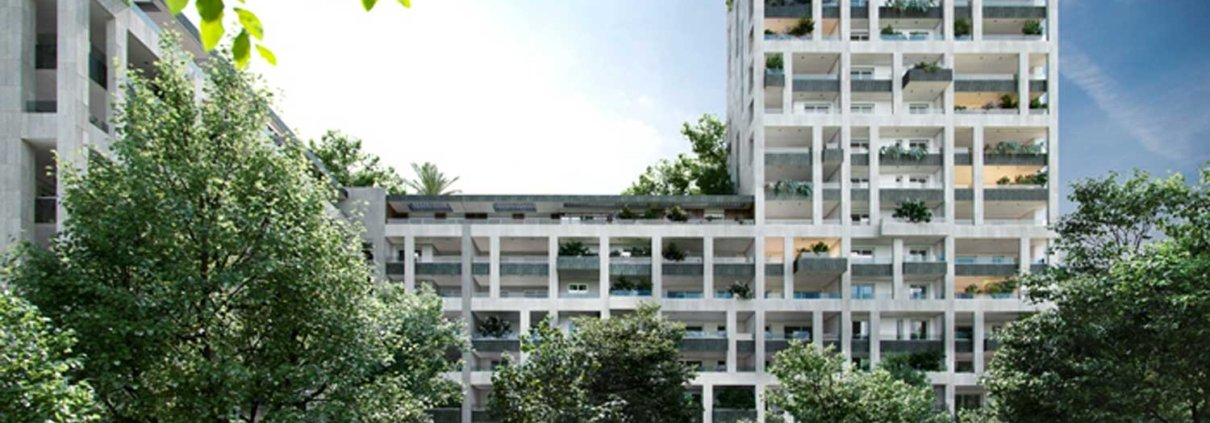 1 - Rendering - Commerciale - Residenziale Via Tacito Milano - Milano City Village - Percassi
