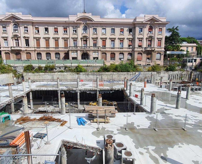 1 - Parcheggio Multipiano Interrato - Genova - I.T.I. Impresa Generale spa