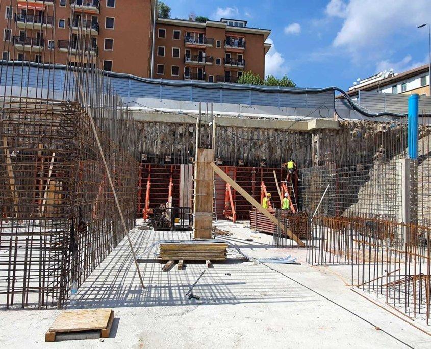 6 - Cantiere -Commerciale - Residenziale Via Tacito Milano - Milano City Village - Percassi